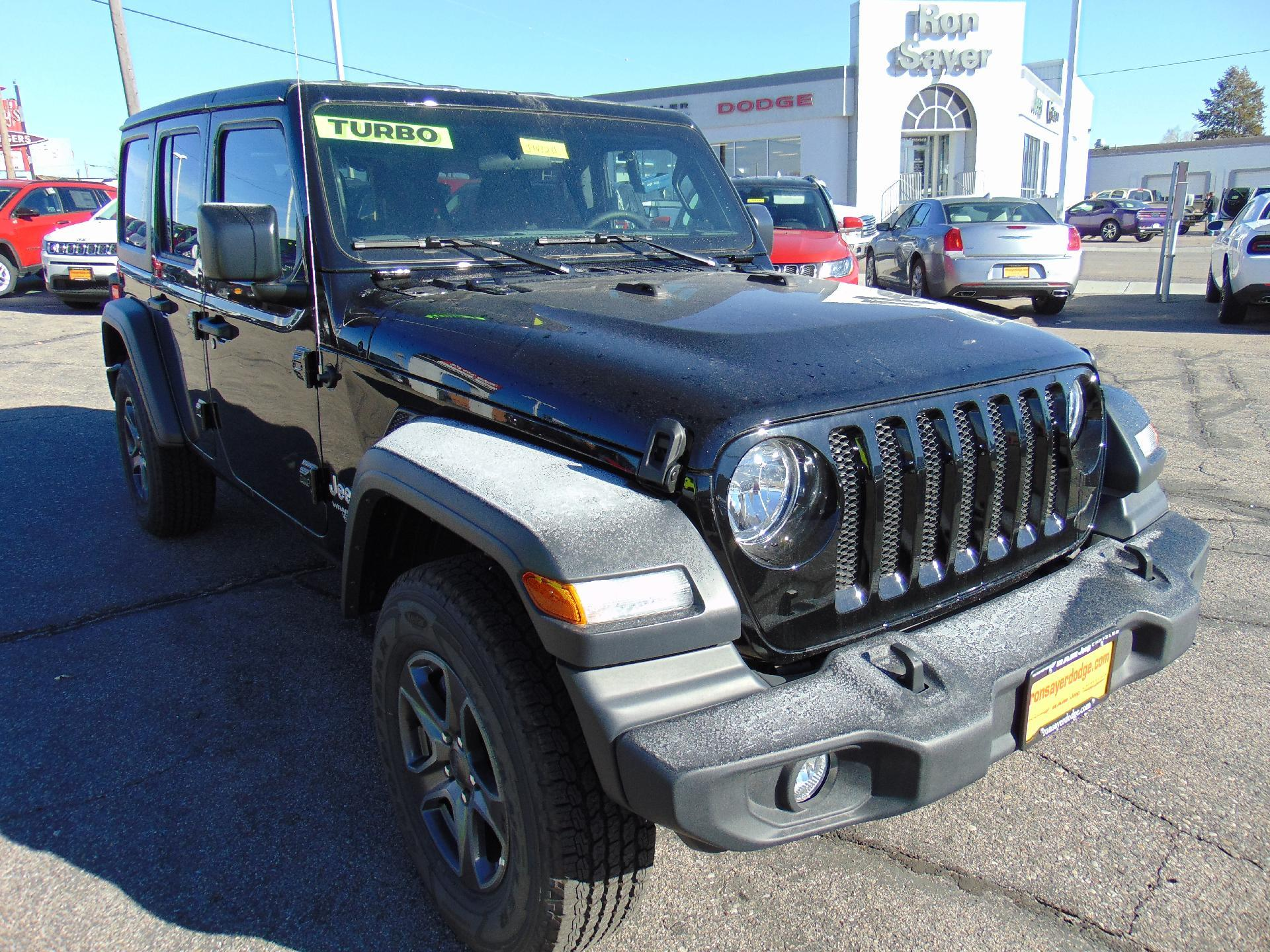 New 2018 JEEP Wrangler Sport Utility in Idaho Falls J