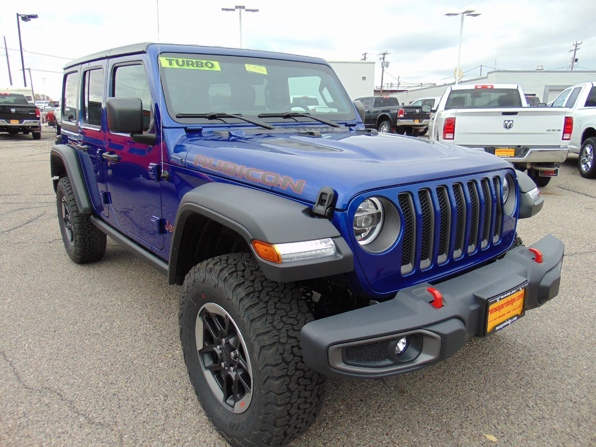 New 2018 JEEP Wrangler Rubicon Sport Utility in Idaho Falls J