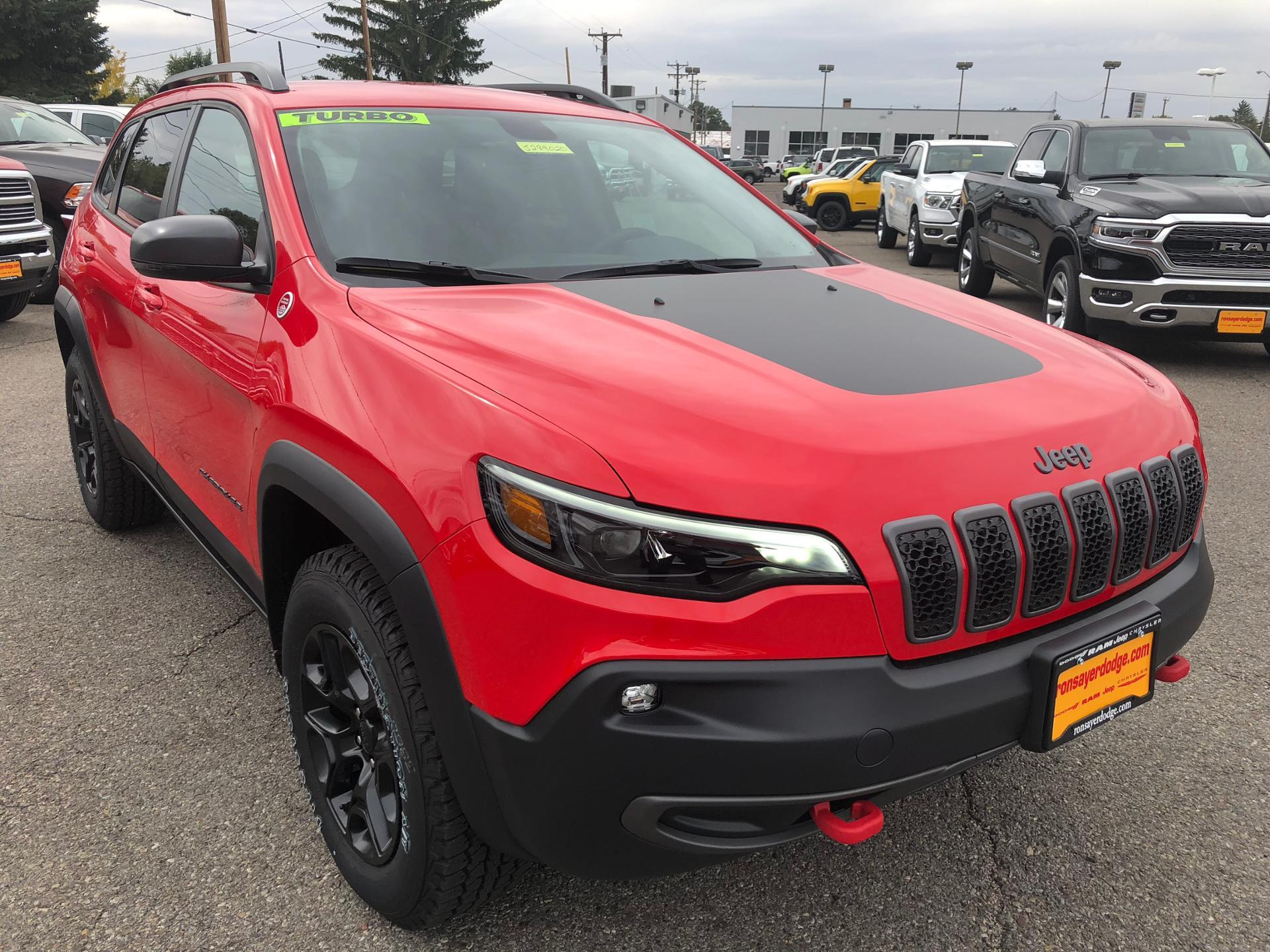 New 2019 JEEP Cherokee Sport Utility in Idaho Falls J