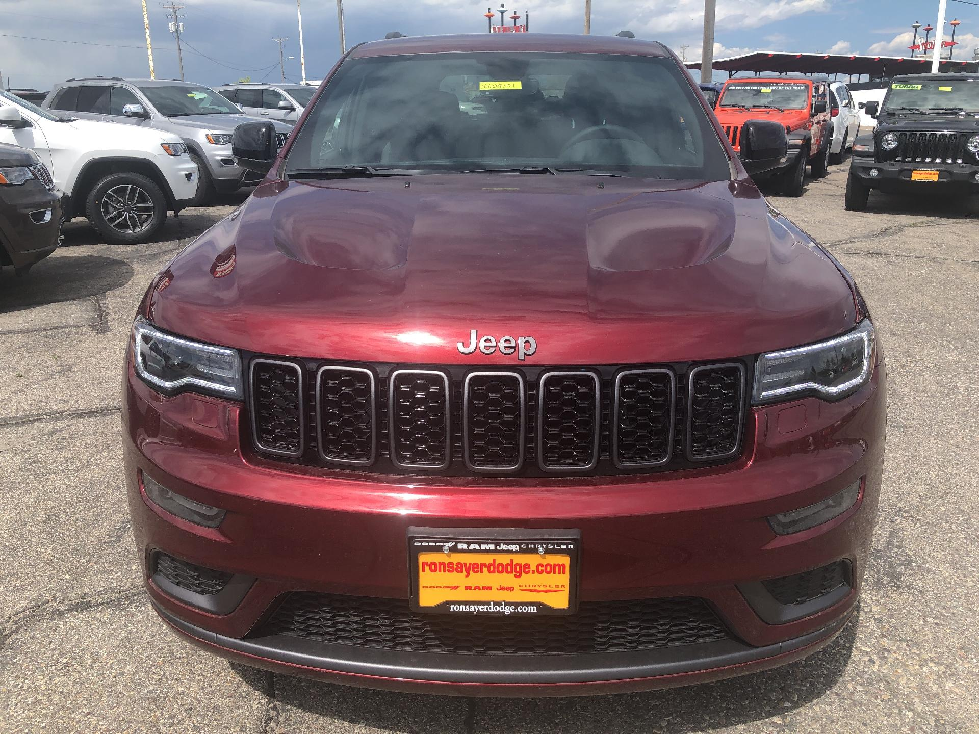New 2019 JEEP Grand Cherokee Limited X