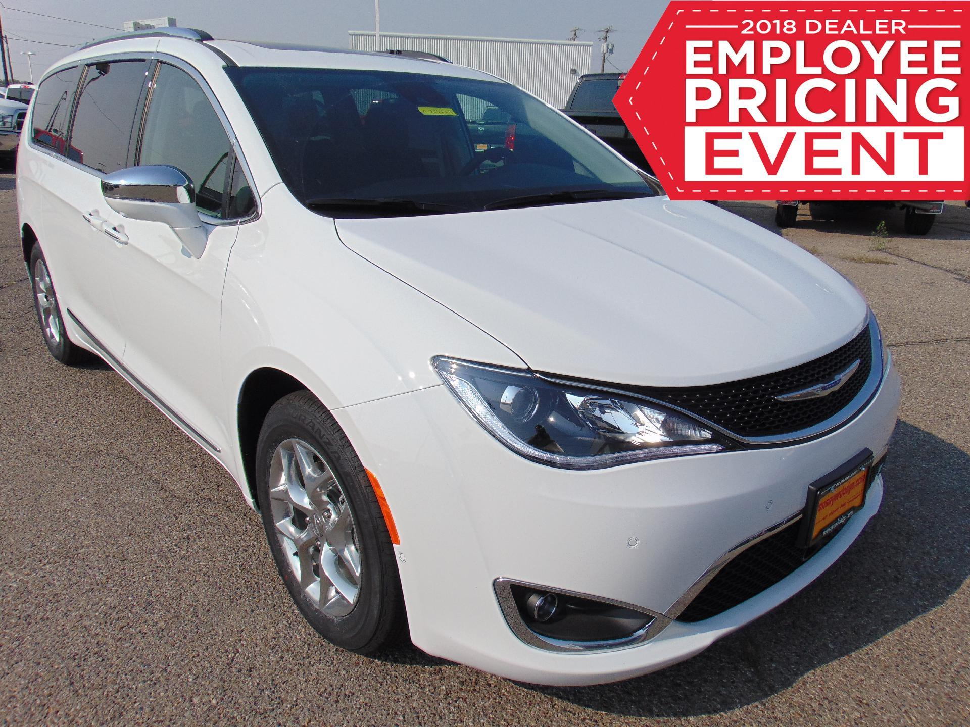 New 2018 CHRYSLER Pacifica Limited Passenger Van in Idaho Falls #C358359 |  Ron Sayer's Chrysler Jeep Dodge