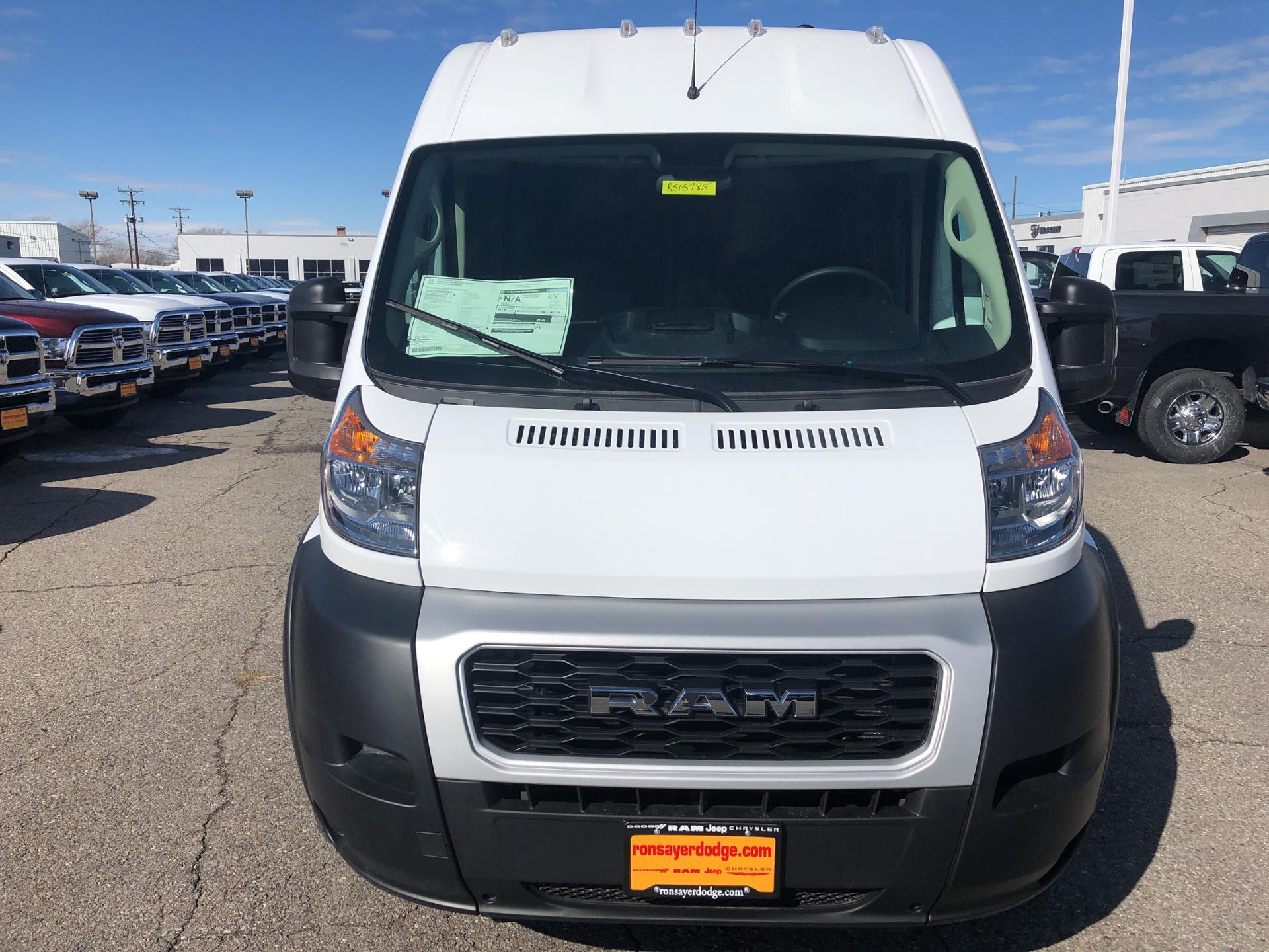 New 2019 RAM ProMaster High Roof 136