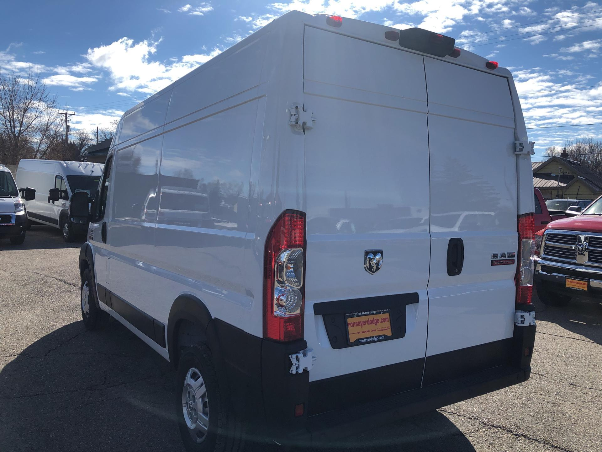 "New 2019 RAM ProMaster High Roof 136"" WB"