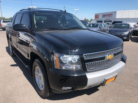 Pre-Owned 2013 Chevrolet Avalanche LT BLACK DIAMOND